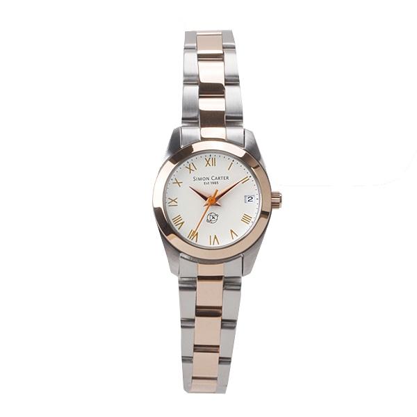 SALE!! セール!!【【SALE】  サイモンカーター SIMON CARTER レディース 腕時計 ピンクゴールド/シルバー SC-008-CRSPB】【ジュエリー・腕時計 レディースSIMON CARTER】【TiCTAC】チックタックオンラインストア
