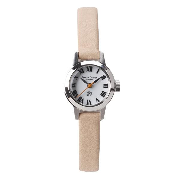 SALE!! セール!!【【SALE】  サイモンカーター SIMON CARTER レディース レザーモデル 腕時計 ホワイト  SC-009-WTSS】【ジュエリー・腕時計 レディースSIMON CARTER】【TiCTAC】チックタックオンラインストア