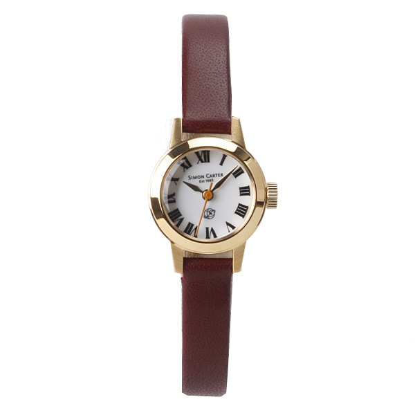 SALE!! セール!!【【SALE】  サイモンカーター SIMON CARTER レディース レザーモデル 腕時計 ホワイト  SC-009-WTYS】【ジュエリー・腕時計 レディースSIMON CARTER】【TiCTAC】チックタックオンラインストア