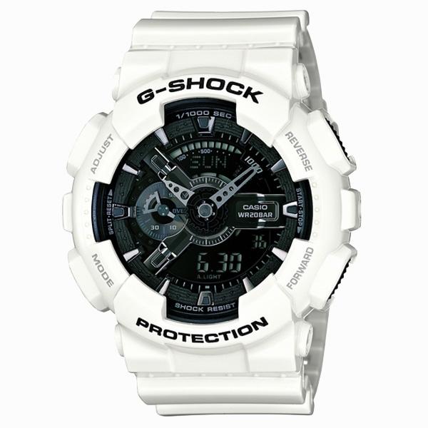 G-SHOCK ジーショック【G-SHOCK ジーショック CASIO カシオ White and Black Series ホワイト&ブラックシリーズ 【国内正規品】 腕時計 GA-110GW-7AJF】【ジュエリー・腕時計 メンズG-SHOCK】【TiCTAC】チックタックオンラインストア