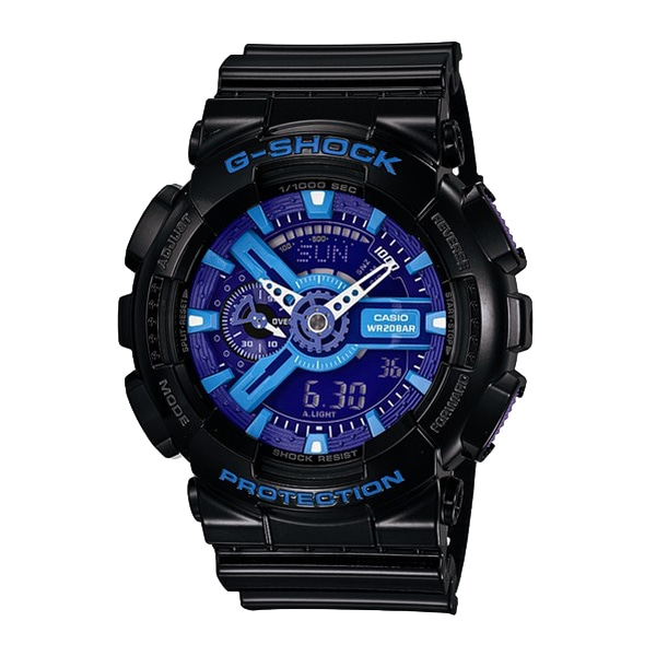 G-SHOCK ジーショック【G-SHOCK Gショック CASIO カシオ HYPER CORORS ハイパーカラー 腕時計 【国内正規品】 メンズ GA-110HC-1AJF】【ジュエリー・腕時計 メンズG-SHOCK】【TiCTAC】チックタックオンラインストア