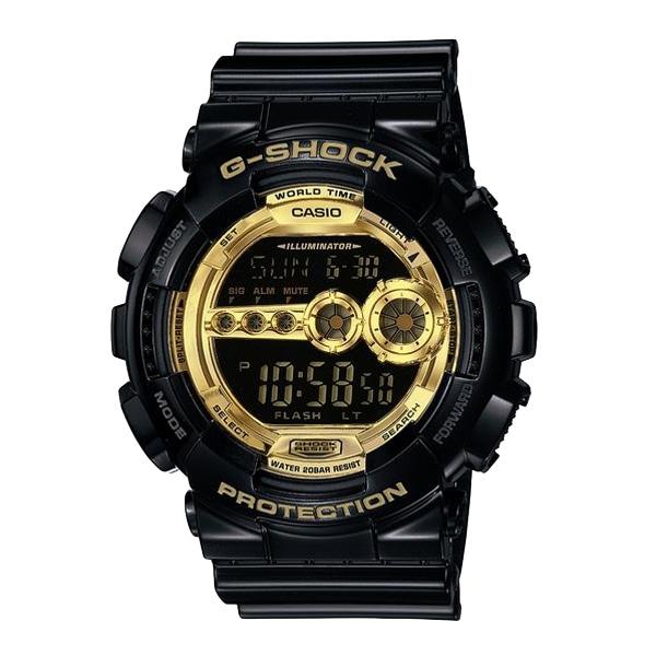 G-SHOCK ジーショック【G-SHOCK ジーショック CASIO カシオ Black × Gold Series ブラック×ゴールド 【国内正規品】 腕時計 GD-100GB-1JF】【ジュエリー・腕時計 メンズG-SHOCK】【TiCTAC】チックタックオンラインストア