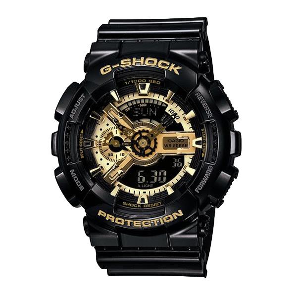 G-SHOCK ジーショック【G-SHOCK ジーショック CASIO カシオ Black × Gold Series ブラック×ゴールド 【国内正規品】 腕時計 GA-110GB-1AJF】【ジュエリー・腕時計 メンズG-SHOCK】【TiCTAC】チックタックオンラインストア
