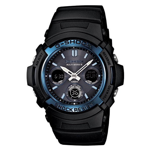 G-SHOCK ジーショック【G-SHOCK ジーショック CASIO カシオ 電波ソーラー 腕時計 【国内正規品】 メンズ ブラック AWG-M100A-1AJF】【ジュエリー・腕時計 メンズG-SHOCK】【TiCTAC】チックタックオンラインストア