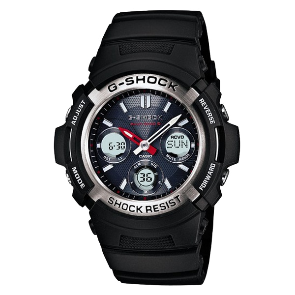 G-SHOCK ジーショック【G-SHOCK ジーショック CASIO カシオ 電波ソーラー 腕時計 【国内正規品】 メンズ AWG-M100-1AJF】【ジュエリー・腕時計 メンズG-SHOCK】【TiCTAC】チックタックオンラインストア
