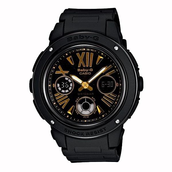 Baby-G ベビージー【Baby-G ベビージー CASIO カシオ 腕時計 【国内正規品】 レディース ブラック/ゴールド BGA-153-1BJF】【ジュエリー・腕時計 レディースBaby-G】【TiCTAC】チックタックオンラインストア