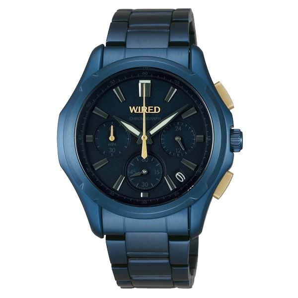 SALE!! セール!!【【SALE!!】 WIRED ワイアード SEIKO セイコー 【TiCTAC別注】 クロノグラフ 腕時計 AGAW639】【ジュエリー・腕時計 メンズWIRED】【TiCTAC】チックタックオンラインストア