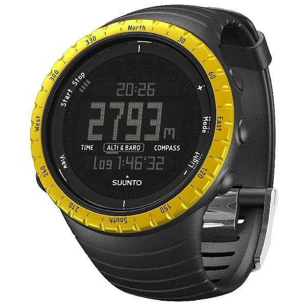 SUUNTO スント【SUUNTO スント Core Black Yellow (コア・ブラック イエロー) SS013315010】【ジュエリー・腕時計 メンズSUUNTO】【TiCTAC】チックタックオンラインストア