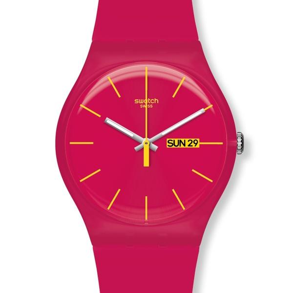 SWATCH スウォッチ【SWATCH スウォッチ NEW GENT ピンク  腕時計  国内正規品 SUOR704】【ジュエリー・腕時計 ユニセックスSWATCH】【TiCTAC】チックタックオンラインストア