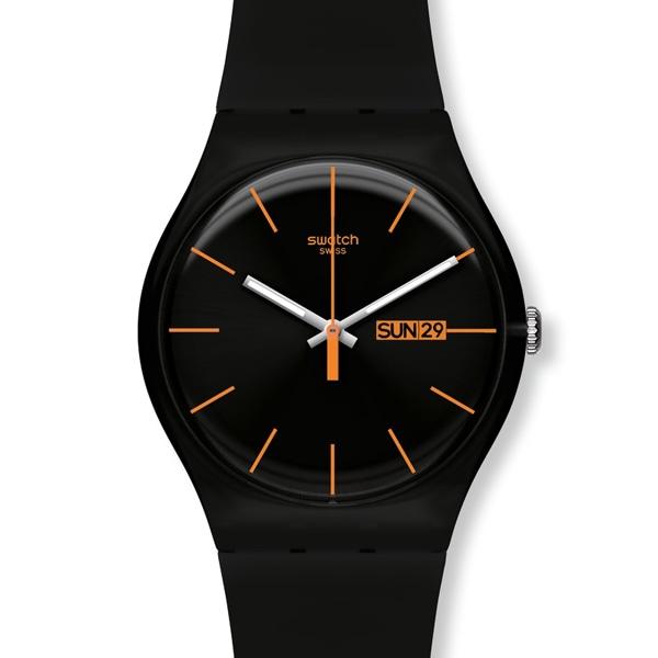 SWATCH スウォッチ【SWATCH スウォッチ NEW GENT ブラック  腕時計 国内正規品 SUOB704】【ジュエリー・腕時計 ユニセックスSWATCH】【TiCTAC】チックタックオンラインストア