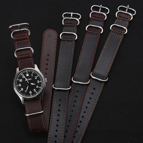 腕時計TOOL / 腕時計BOX 【NATOレザーストラップ 18・20・22・24mm 腕時計 ベルト  NATO-IT-LEATHER】【ジュエリー・腕時計 腕時計ベルトメンズNATO】【TiCTAC】チックタックオンラインストア