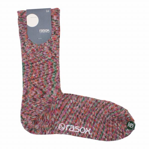 rasox(ラソックス) rasox ラソックス スプラッシュ・コットン ソックス メンズ靴下 Lサイズ CA060LC35【ファッション・アパレル インナーメンズ靴下rasox】【TiCTAC】チックタックオンラインストア