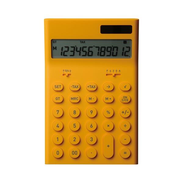 ±0(プラスマイナスゼロ) ±0 プラスマイナスゼロ Calculators 電子計算機M 電卓 ZZD-Q010【キッチン・日用品雑貨 文具電卓±0】【TiCTAC】チックタックオンラインストア