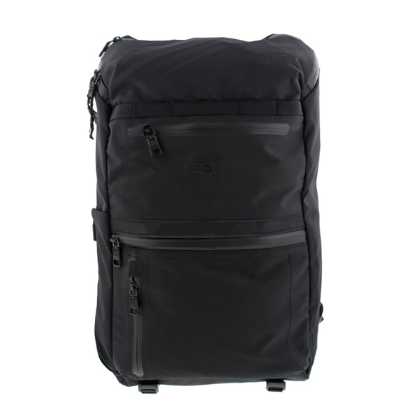 AS2OV アッソブ WATER PROOF CORDURA 305D ROUND ZIP BACKPACK バックパック BLACK ブラック 141612-10