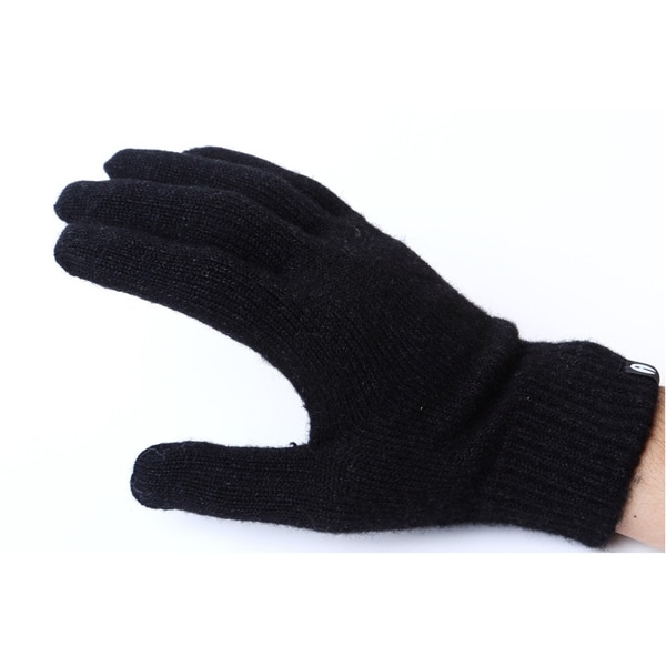 【SALE】iTouch Gloves アイタッチグローブ Solid Black Anti-Slip タッチパネル対応 手袋 Black iTG-011-BK/Lsize