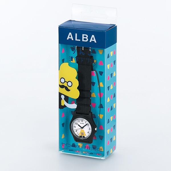 brand new 6d6c0 a686d TiCTAC]SEIKO ALBA アルバ うんこ先生 うんこ漢字ドリル 腕時計 ...
