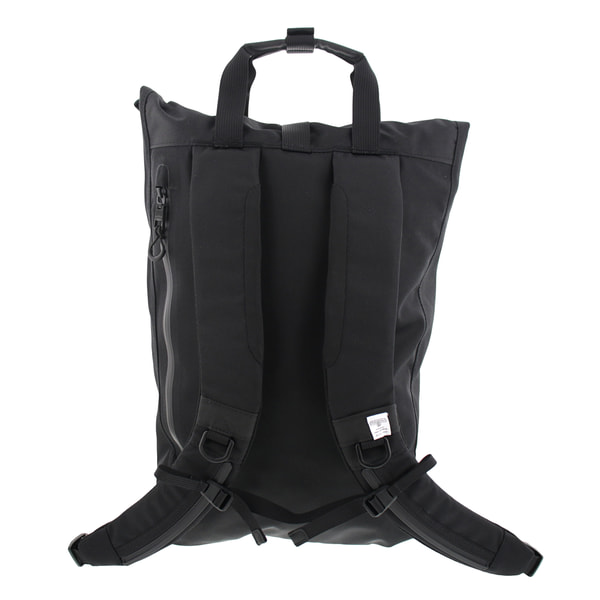 AS2OV アッソブ WATER PROOF CODURA 305D BACK PACK バックパック Black 141605 141605