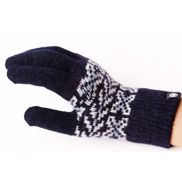 iTouch Gloves アイタッチグローブ Patterns タッチパネル対応 手袋 Grey iTG-015-NV/Ssize