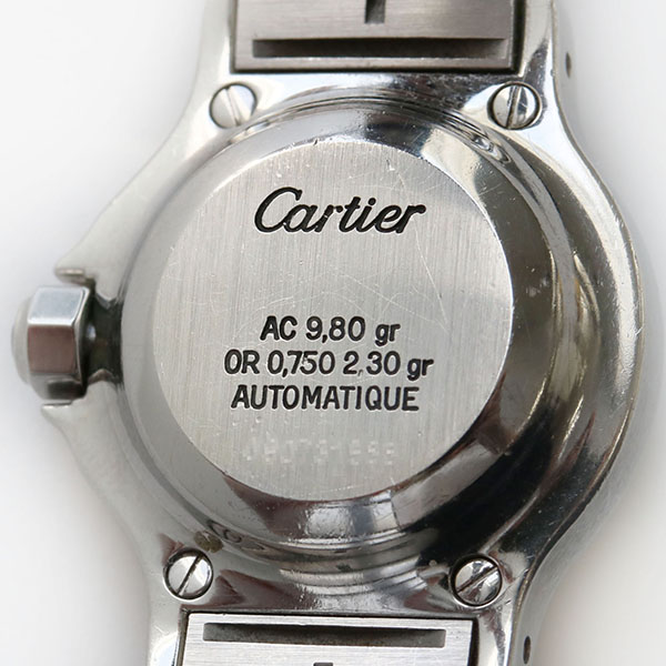 reputable site bc476 019ad TiCTAC]【中古】CARTIER カルティエ SANTOS サントス オクタゴン ...