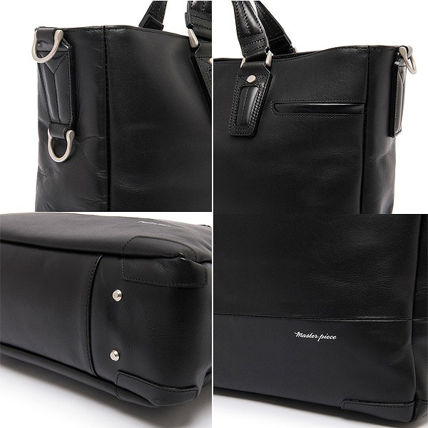 master-piece マスターピース COLLECTORS別注 GLOSS version2 BLACK 01640-CO3 BK