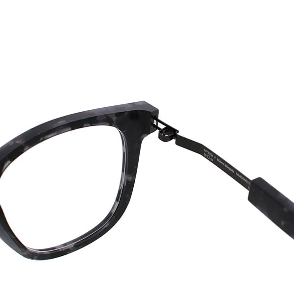 【MYKITA+Maison Margiela】  MMRAW012 842(Raw Black Havana/Black) メガネ