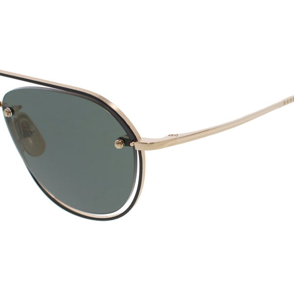 THOM BROWNE トムブラウン TBS112-52-02(WhiteGold Black Enamel-Black Iron/Grey-AR) サングラス