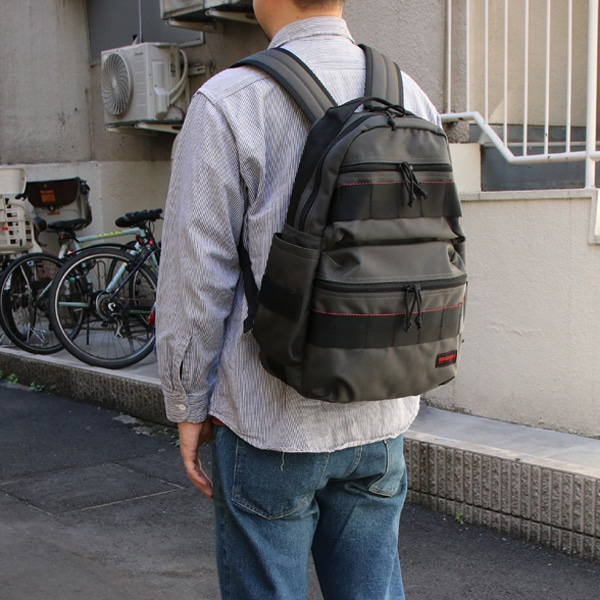 BRIEFING ブリーフィング ATTACK PACK デイパック Steel BRF136219-011
