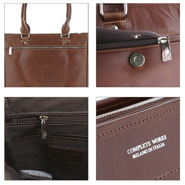 COMPLETE WORKS X BONFANTI コレクターズ別注 縦型トートバッグ BROWN 457702