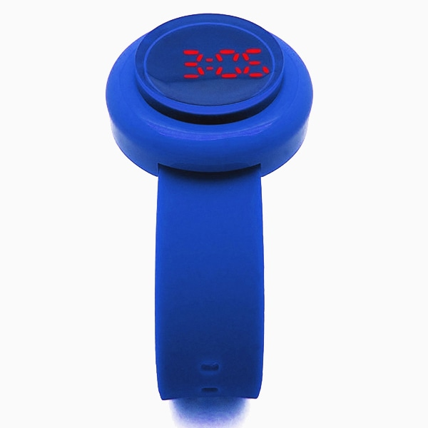 【SALE!!】CLICK ARCADE BUTTON WATCH クリック ボタン ウォッチ 腕時計 【国内正規品】 デジタル ブルー HAU-BU-BL