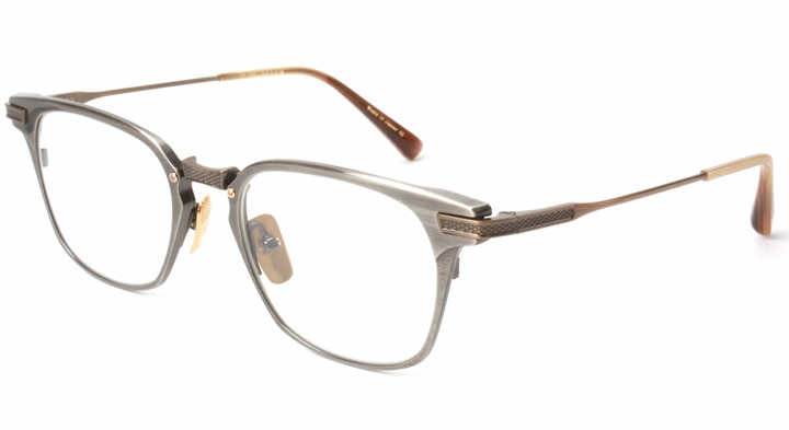 6f0dbfa35b9 DITA ディータ UNION ユニオン DRX-2068-C(Antique Silver Antique 18k gold) 49size 眼鏡  メガネ
