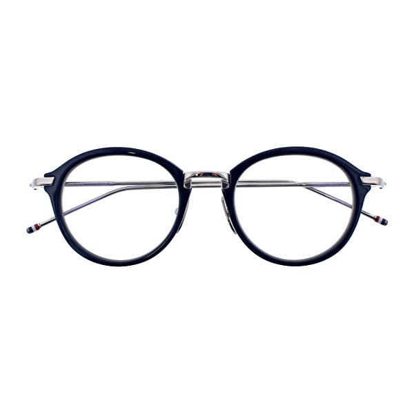 THOME BROWNE トムブラウン TB-011 49size  H(NAVY/SILVER) 眼鏡 メガネ
