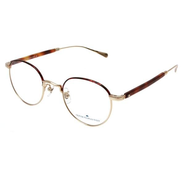 OLIVER PEOPLES WEST TRENT Col: G/MD 眼鏡 メガネ  TRENT G/MD