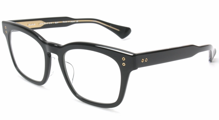 6b40952d5fb DITA ディータ MANN 01A Col Black Crystal Clear Back 眼鏡 メガネ DTX102-51