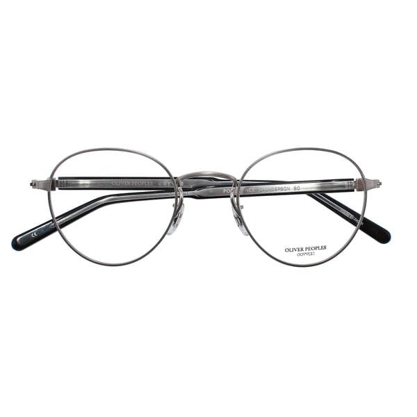 【在庫限り】OLIVER PEOPLES×POKER FACE 別注モデル SAUNDERSON サンダーソン BC 眼鏡 メガネ 国内正規品