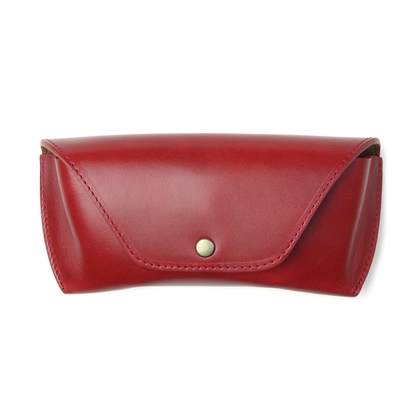 DIFFUSER ディフューザー OILE LEATHER EYEWEAR CASE オイルレザー眼鏡ケース SG1076C(Red Brown & Brown)
