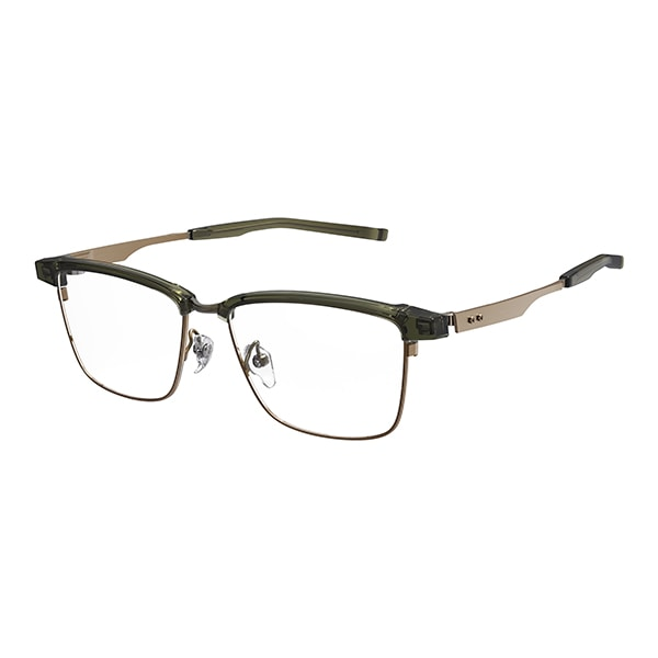 99fe9e02d1a35 【店頭のみ取扱商品】999.9 フォーナインズ M-29 7603 グリーンカーキ×アンティークゴールド 眼鏡 メガネ