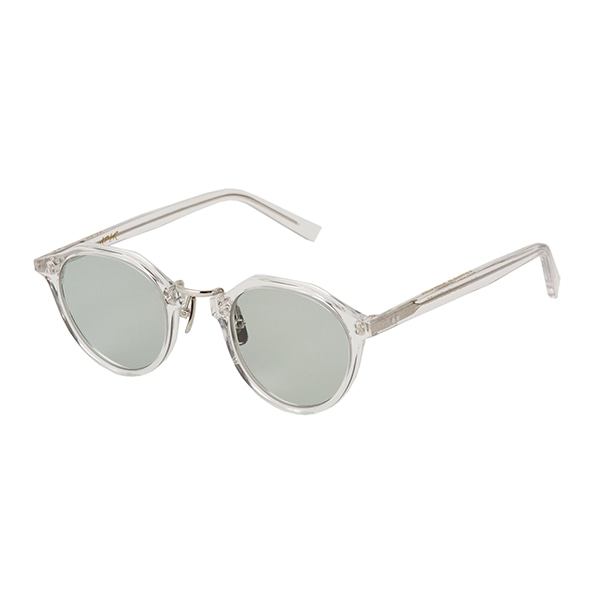 【A.D.S.R.】 SATCHMO サッチモ 03d(Clear/Silver)レンズカラー:Lt.Green サングラス