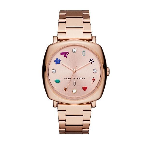 レディース ピンク マークジェイコブス MARC JACOBS MJ1584 腕時計 ブラック