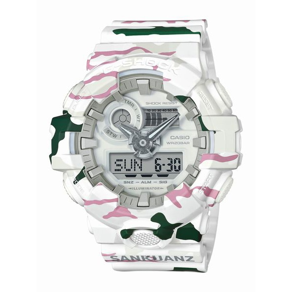 G-SHOCK ジーショック 35th Anniversary Collaboration series G-SHOCK × SANKUANZ 【国内正規品】 腕時計 GA-700SKZ-7AJR