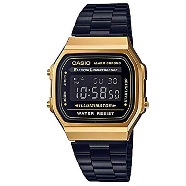 a56895f985 CASIO カシオ スタンダード デジタル 腕時計 A168WEGB-1BJF