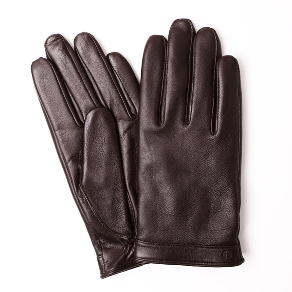 【SALE】iTouch Gloves アイタッチグローブ Solid Leather タッチパネル対応 レザー 手袋 Brown iTGL-011-BR/Lsize