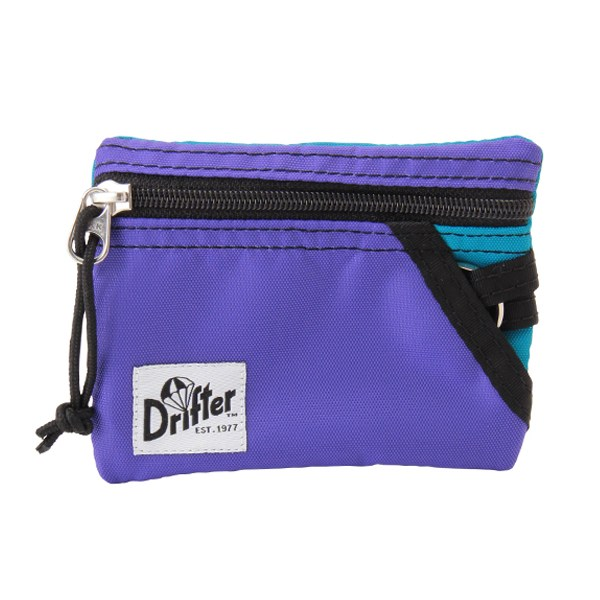 Drifter ドリフター KEY COIN POUCH キーコインポーチ アメジスト/アクア DFV0230Q4