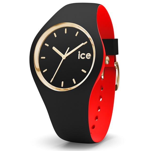 ICE WATCH LOULOU ランジェリー エレガント ルージュ アイスルールー 腕時計 シリコン レディース アイスウォッチ ダイヤモンドカット ウォッチ 【優勝記念セール】