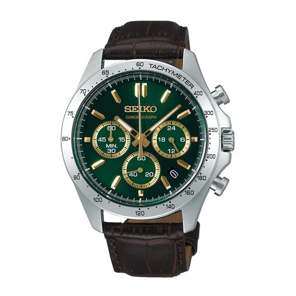 cdf7518a29 SEIKO SELECTION セイコーセレクション 8Tクロノグラフ 【国内正規品】 腕時計 メンズ SBTR017