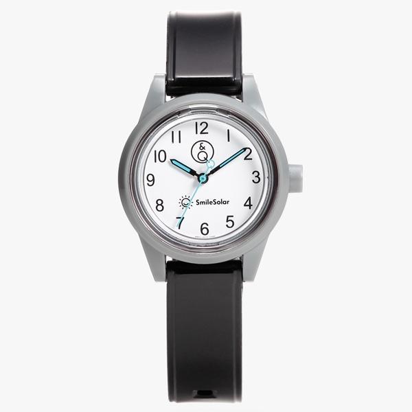 b630f6b0e2 Q&Q Smile Solar mini キューアンドキュー スマイルソーラー ミニ 【国内正規品】 腕時計