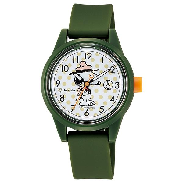 4047433642 Q&Q SmileSolar Peanuts Collection スマイルソーラ ピーナッツ コラボモデル 腕時計 RP29J807