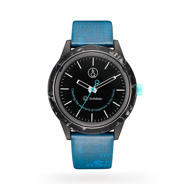 66402beaf4 Q&Q Smile Solar キューアンドキュー スマイルソーラー Series007 アセテートモデル 腕時計 ...