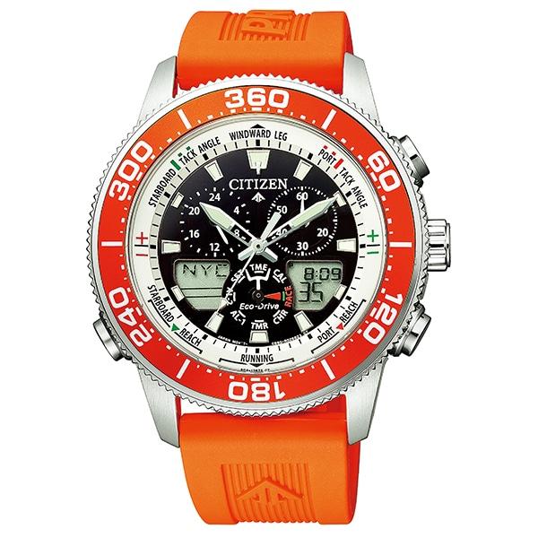 f1f0f3cf9e シチズン プロマスター マリン CITIZEN PROMASTER エコドライブ ヨットタイマー MARINE 腕時計 メンズ JR4061-18E
