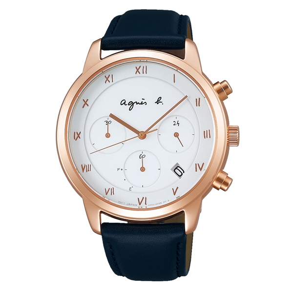 770a8bed5e agnes b. アニエスベー Marcello マルチェロ 腕時計 メンズ FBRD940