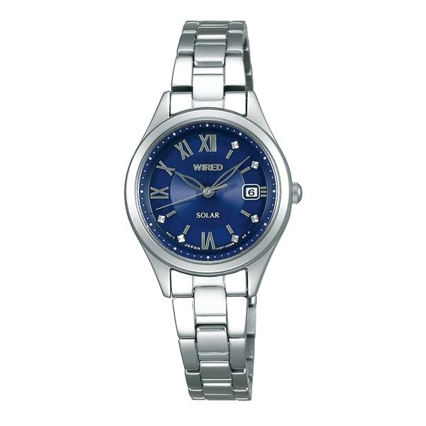 2ef998b5c7 WIRED f ワイアード エフ SEIKO セイコー PAIR STYLE ペア・スタイル ソーラー 腕時計 レディース AGED103